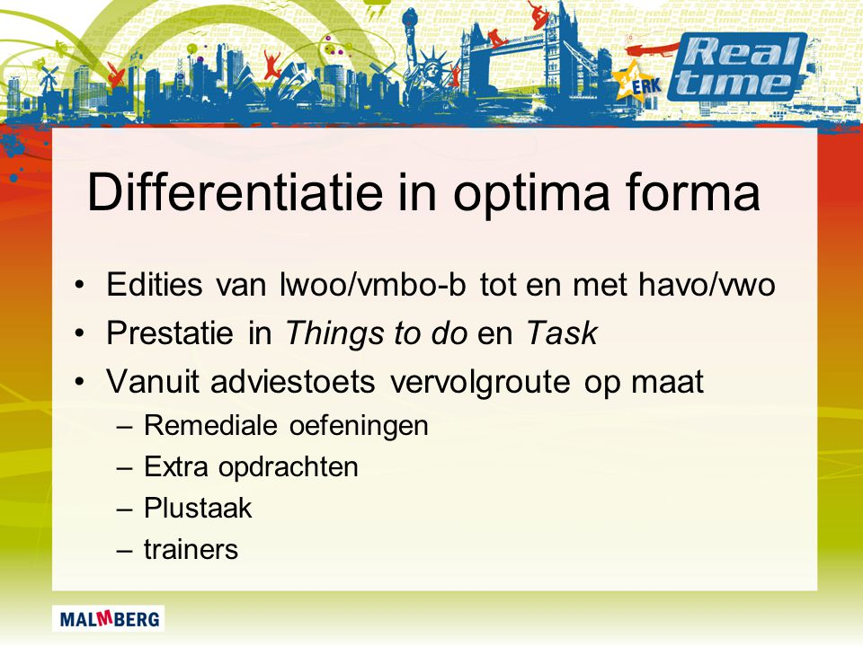 Differentiatie in optima forma