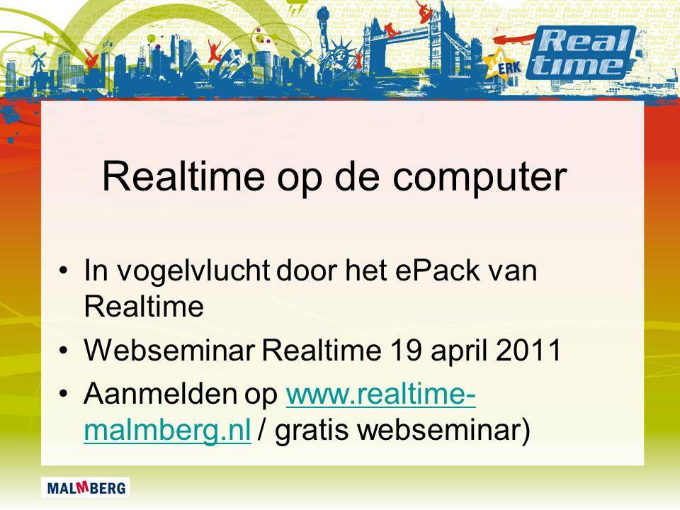 Realtime op de computer