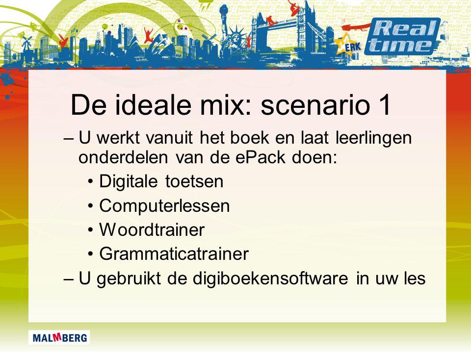 De ideale mix: scenario 1