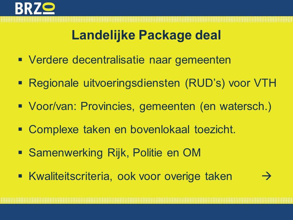 Landelijke Package deal
