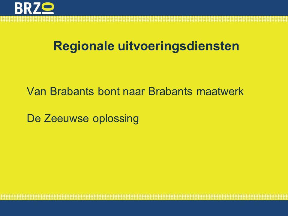 Regionale uitvoeringsdiensten