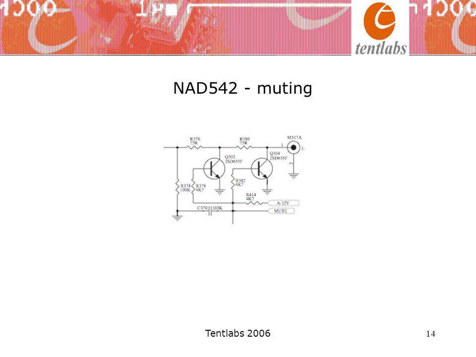 NAD542 - muting