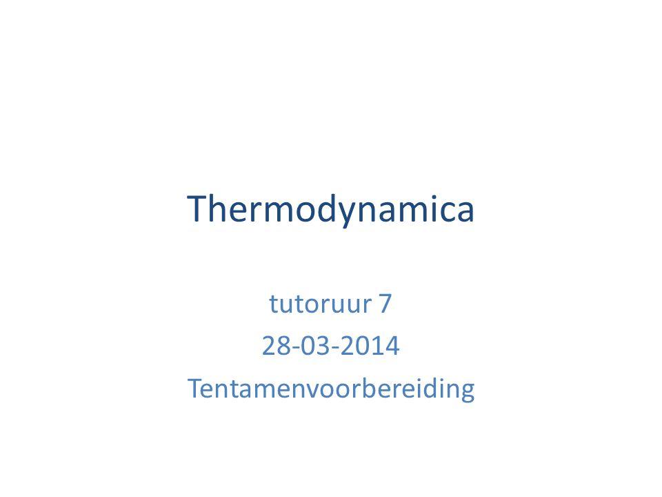 tutoruur 7 28-03-2014 Tentamenvoorbereiding