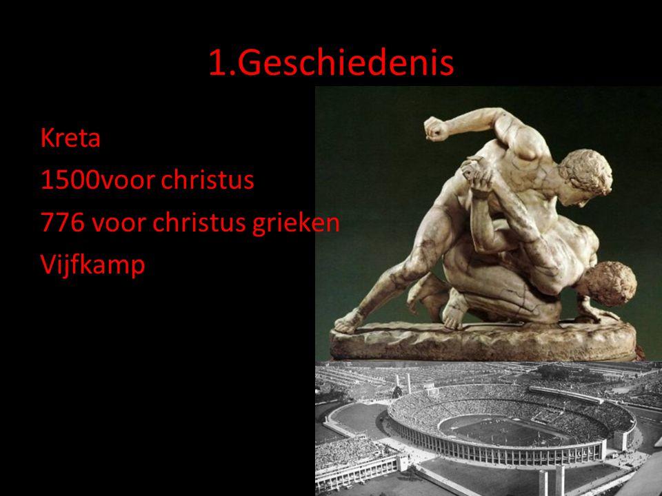1.Geschiedenis Kreta 1500voor christus 776 voor christus grieken