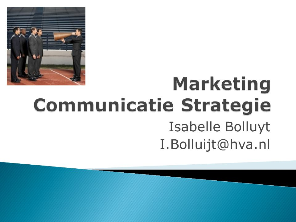 Marketing Communicatie Strategie