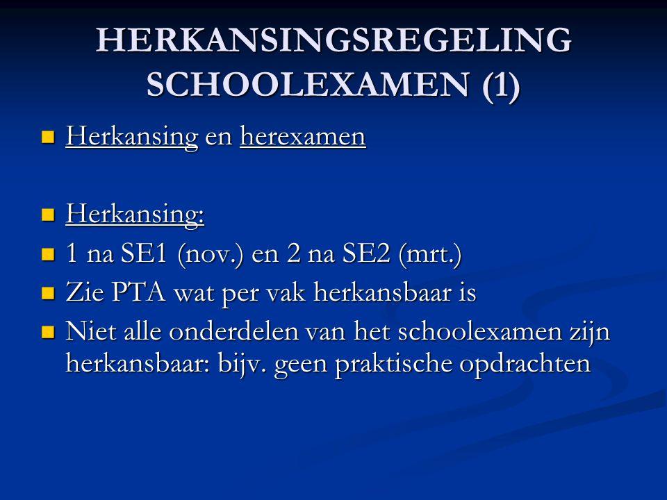 HERKANSINGSREGELING SCHOOLEXAMEN (1)