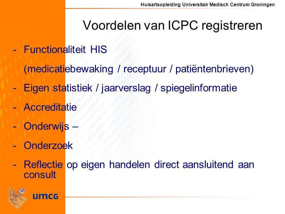 Voordelen van ICPC registreren
