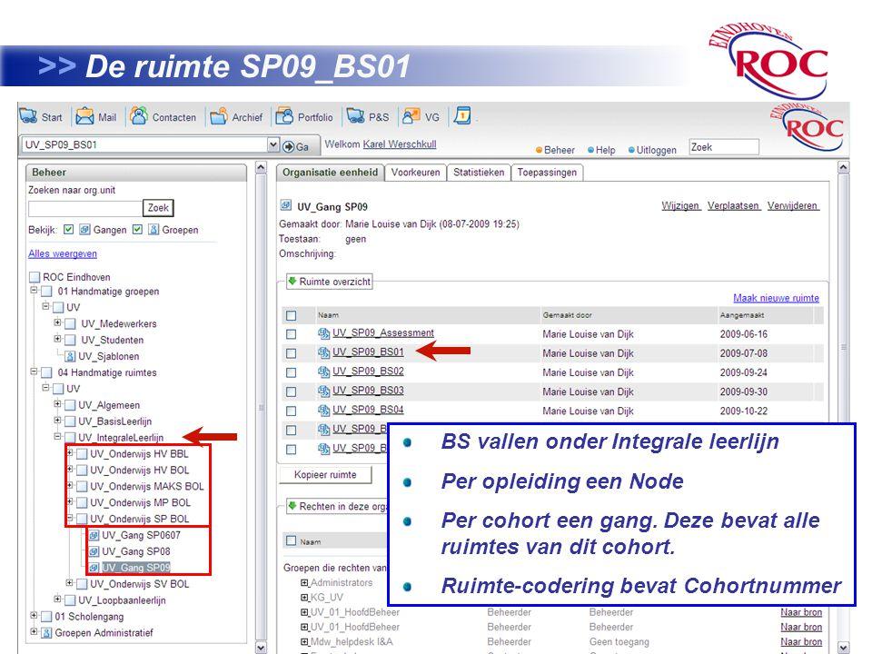 >> De ruimte SP09_BS01