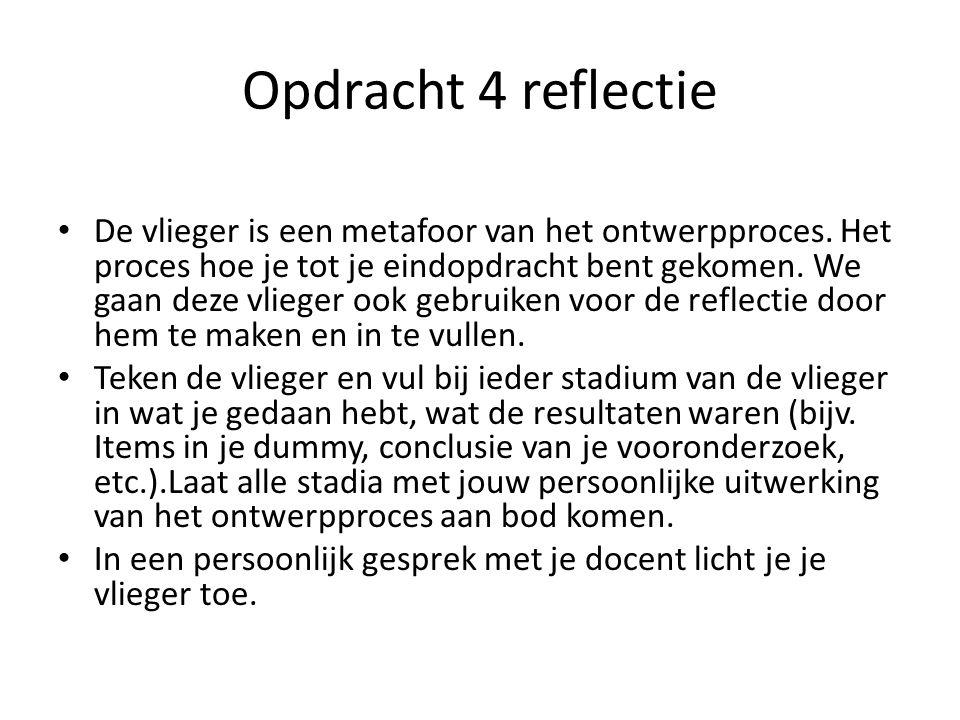 Opdracht 4 reflectie