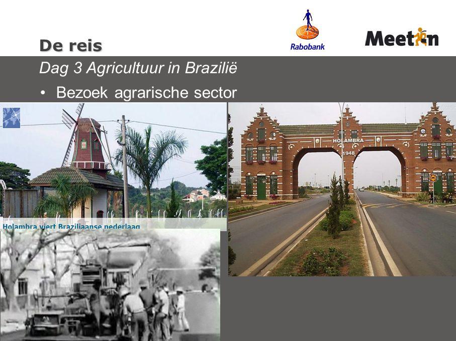 De reis Dag 3 Agricultuur in Brazilië
