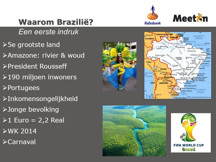 Waarom Brazilië Een eerste indruk