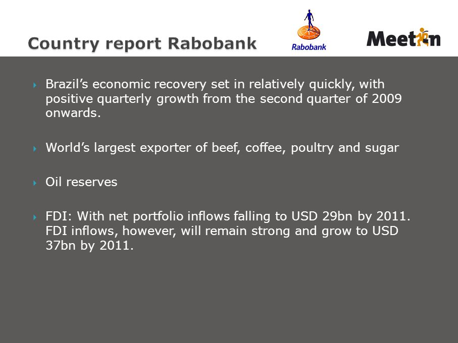 Country report Rabobank