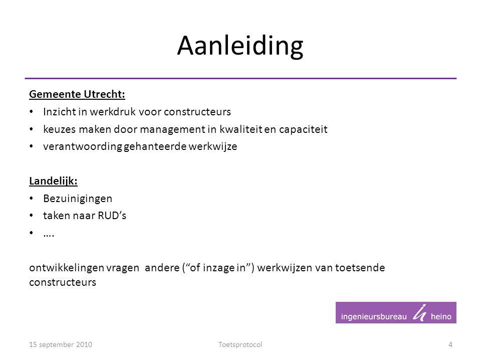 Aanleiding Gemeente Utrecht: Inzicht in werkdruk voor constructeurs
