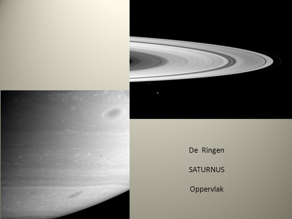 De Ringen SATURNUS Oppervlak
