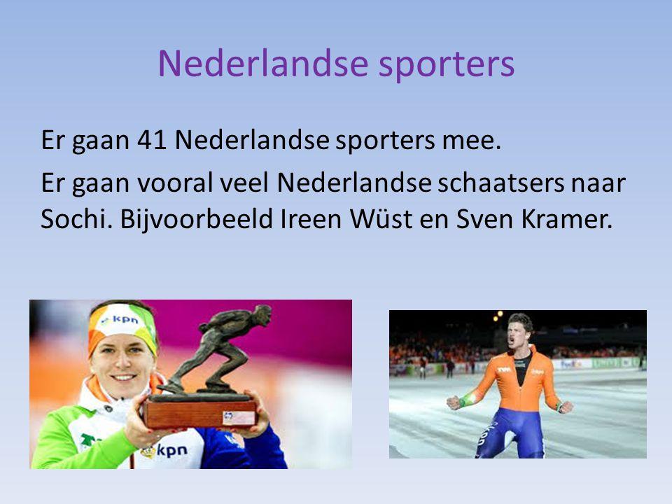 Nederlandse sporters