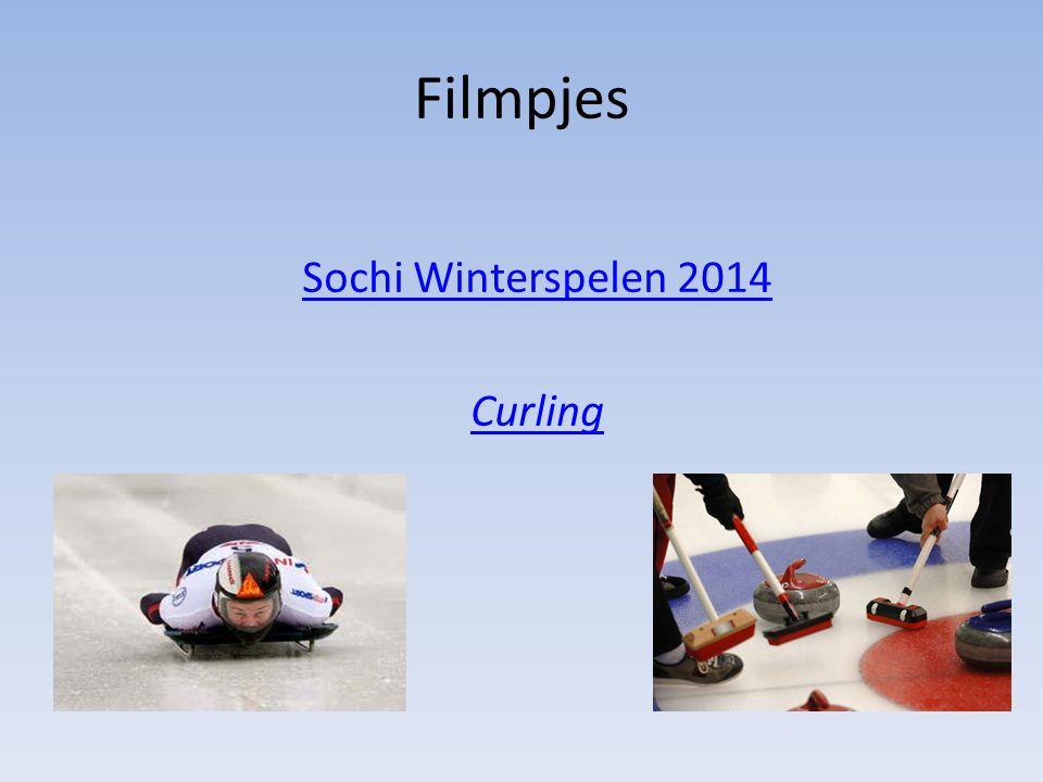 Filmpjes Sochi Winterspelen 2014 Curling