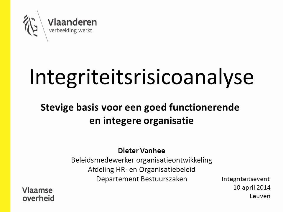 Stevige basis voor een goed functionerende en integere organisatie
