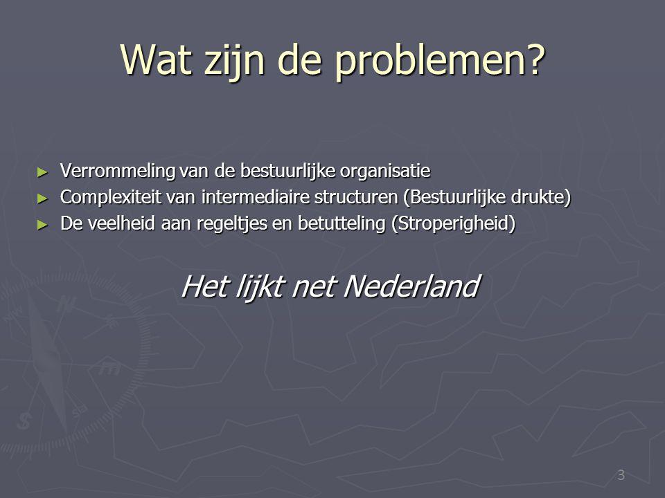 Het lijkt net Nederland