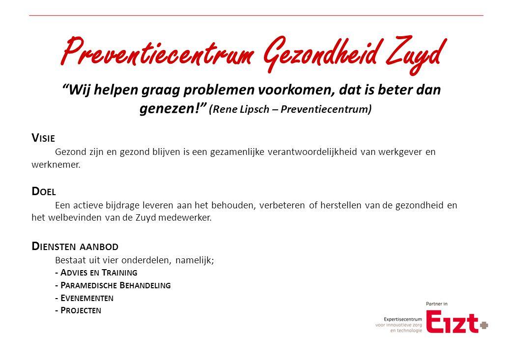 Preventiecentrum Gezondheid Zuyd