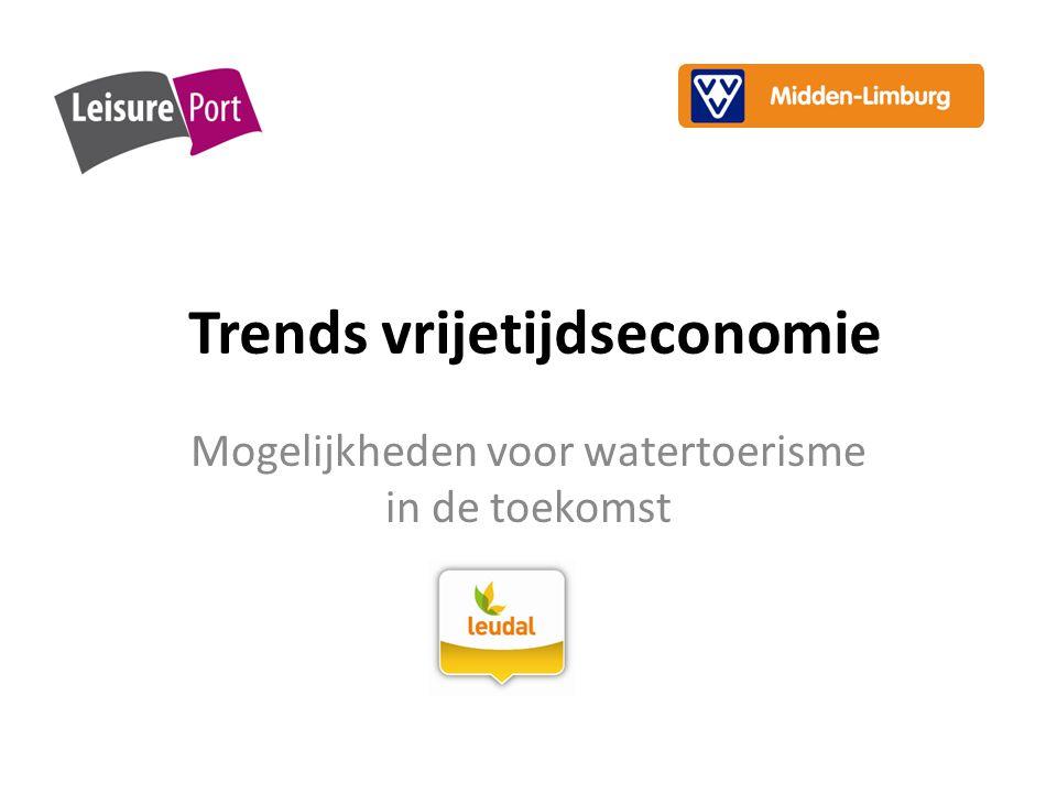Trends vrijetijdseconomie