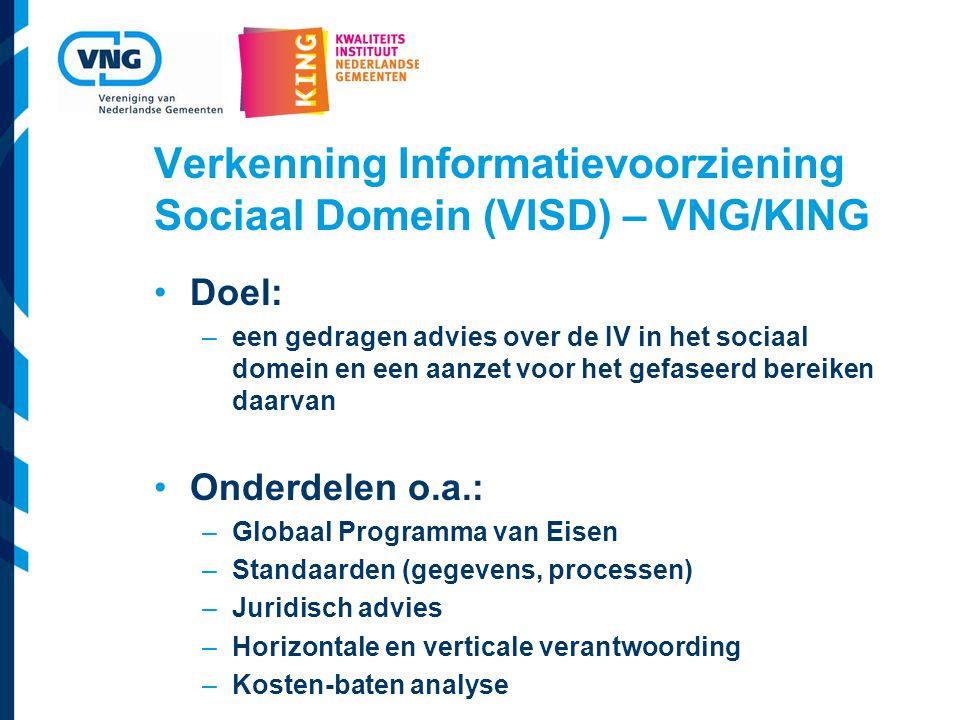 Verkenning Informatievoorziening Sociaal Domein (VISD) – VNG/KING