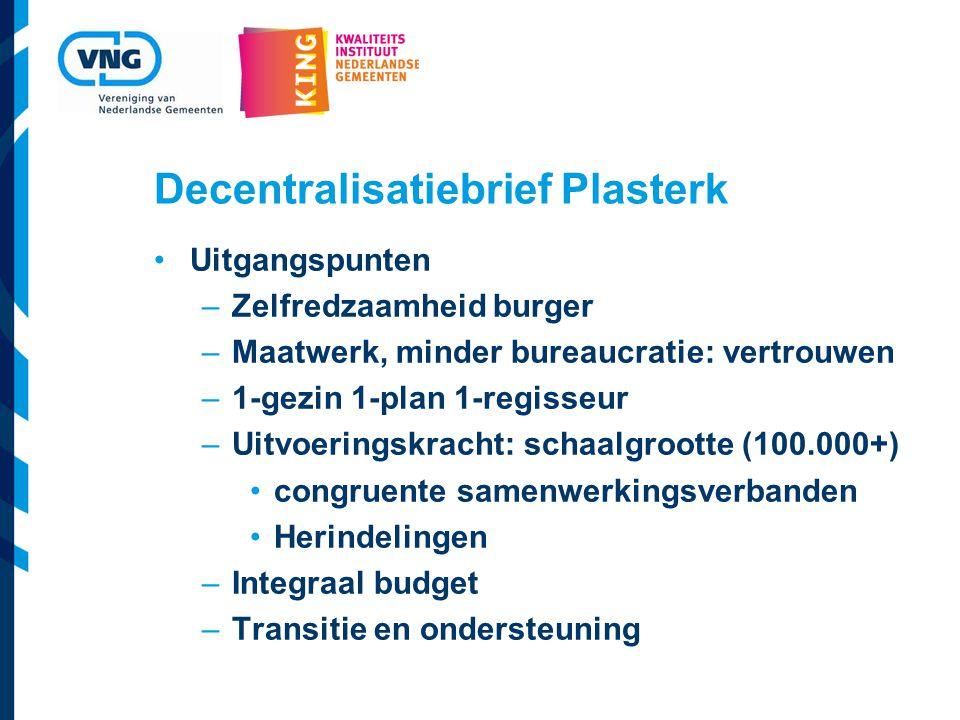 Decentralisatiebrief Plasterk