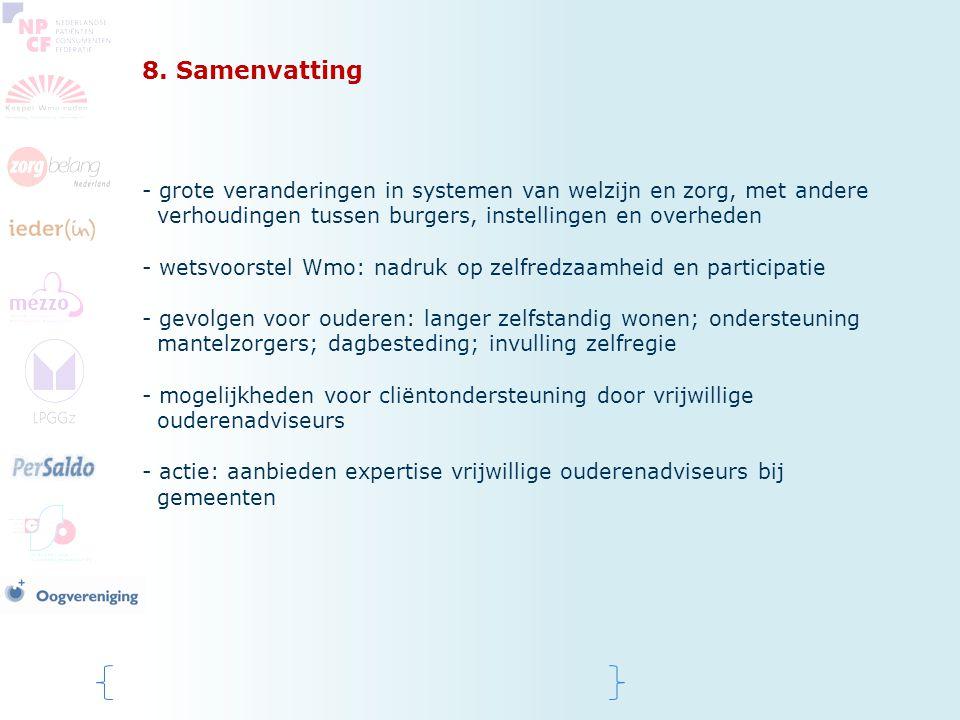 8. Samenvatting