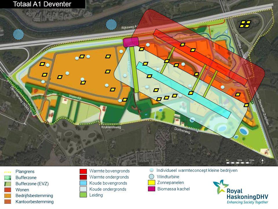 Warmte-koude opslag Totaal A1 Deventer Plangrens Bufferzone
