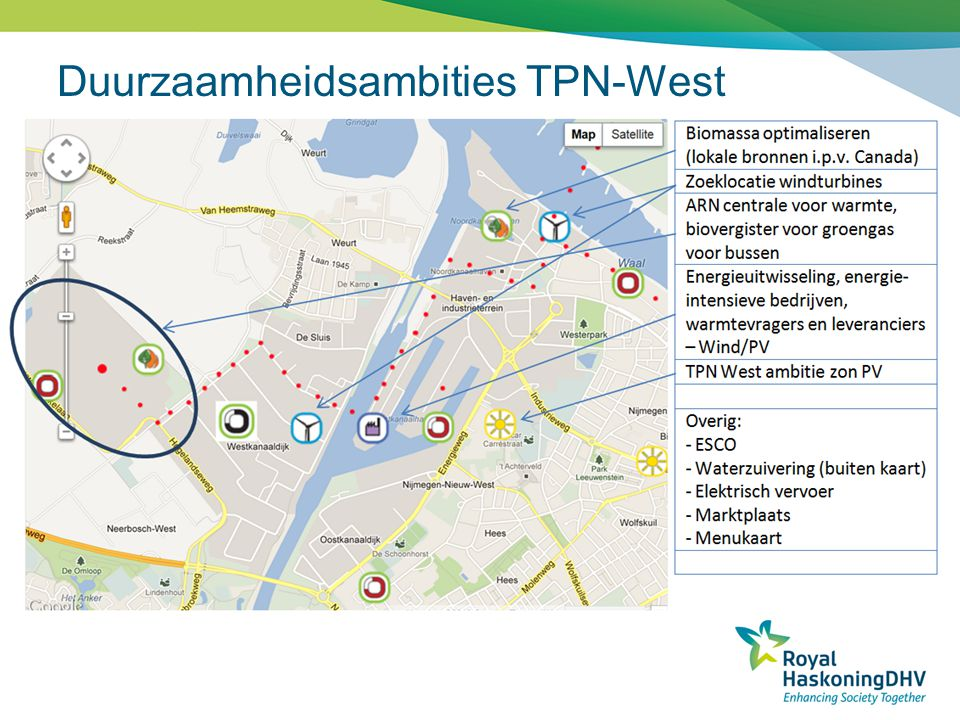 Duurzaamheidsambities TPN-West