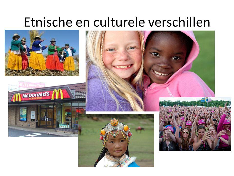 Etnische en culturele verschillen