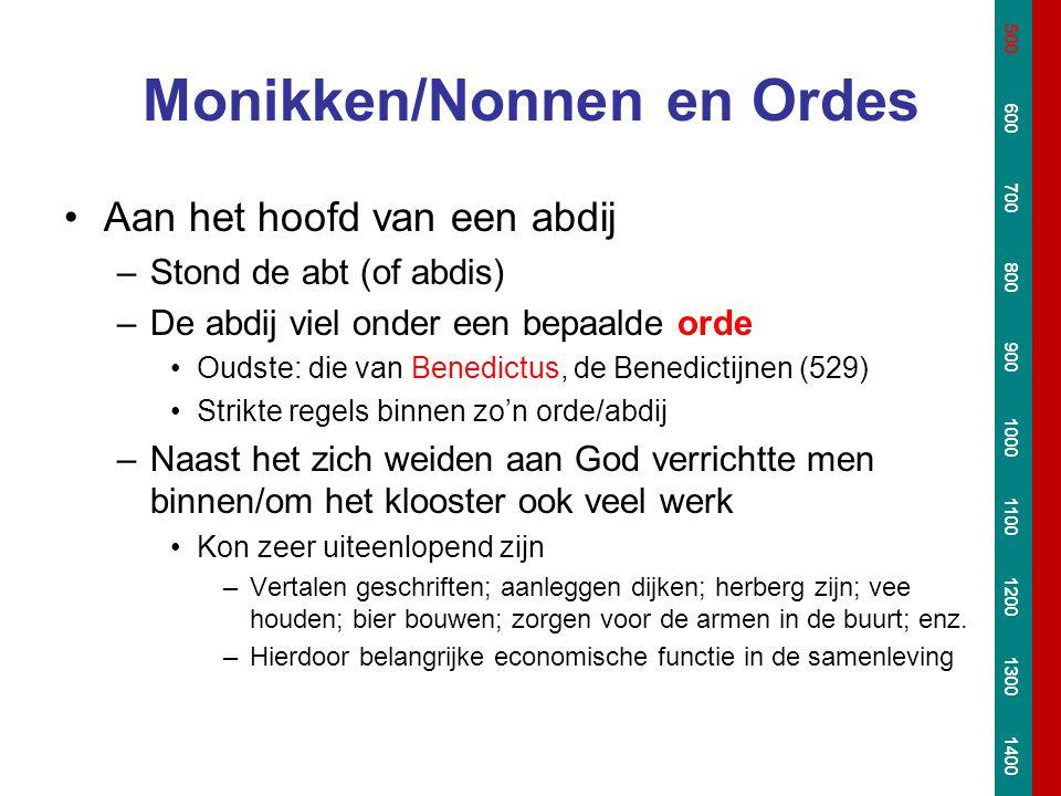 Monikken/Nonnen en Ordes