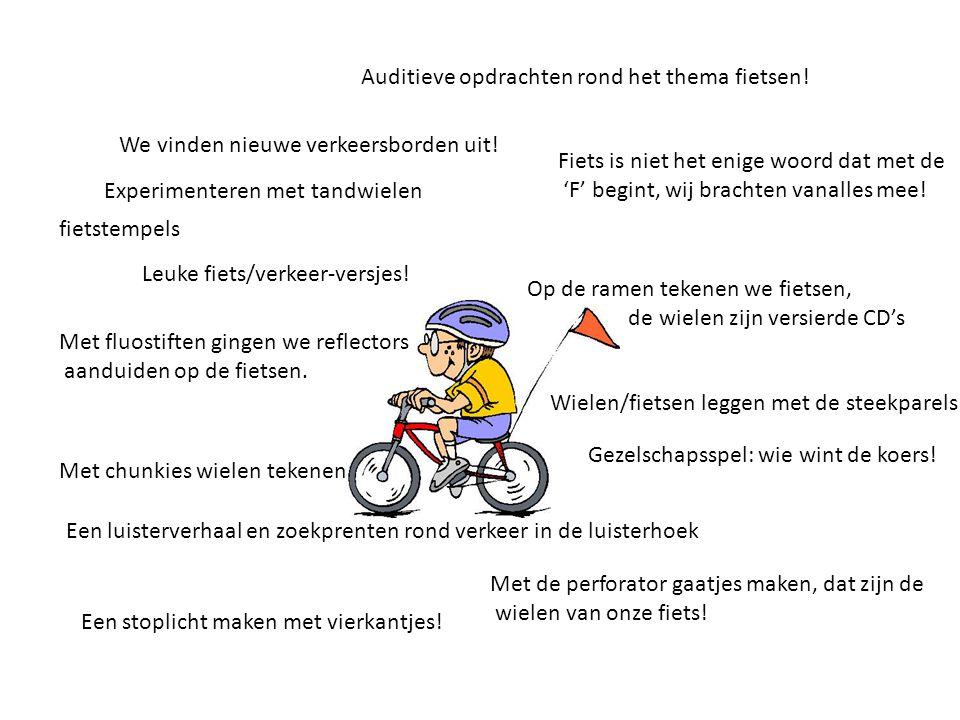 Auditieve opdrachten rond het thema fietsen!