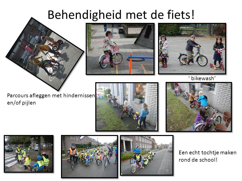 Behendigheid met de fiets!