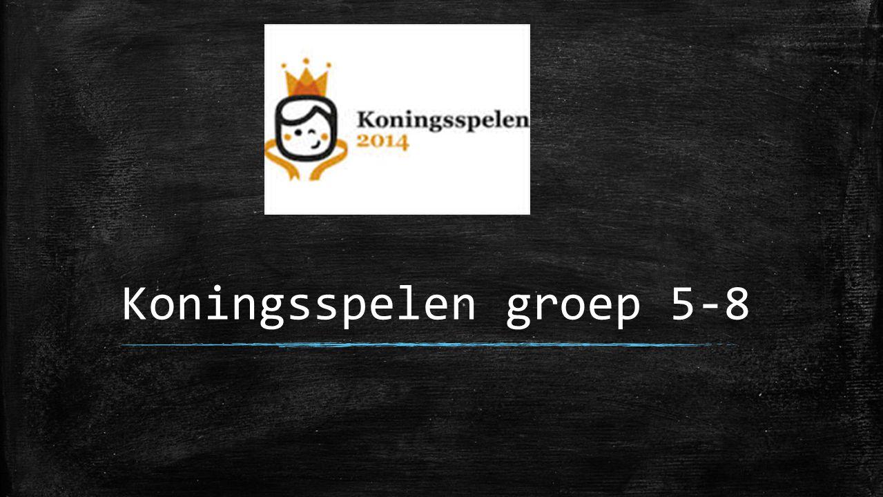 Koningsspelen groep 5-8