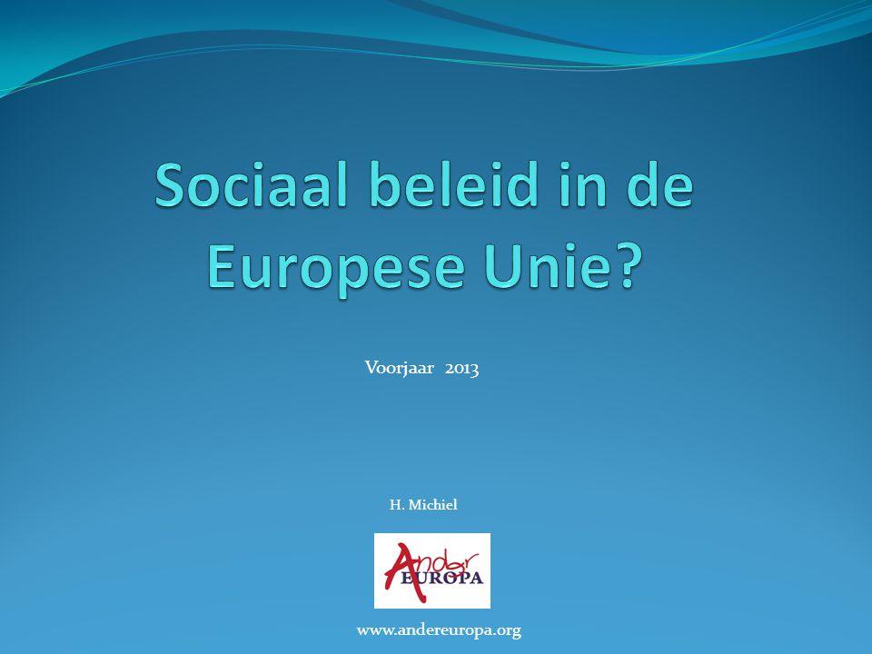 Sociaal beleid in de Europese Unie