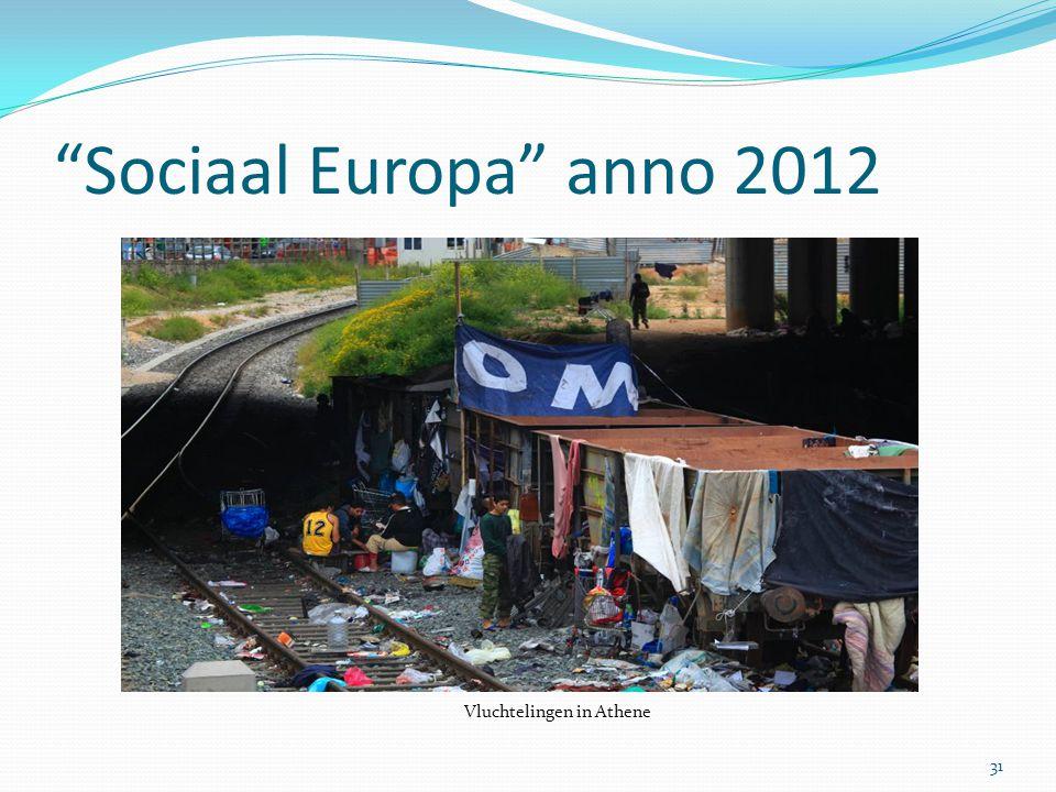 Sociaal Europa anno 2012 Vluchtelingen in Athene