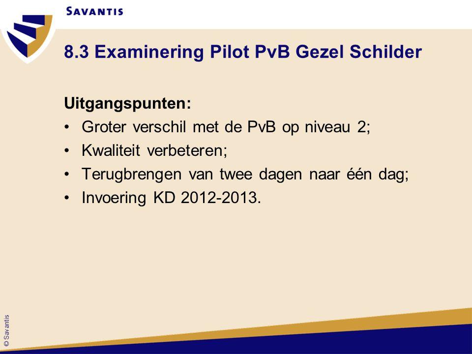8.3 Examinering Pilot PvB Gezel Schilder