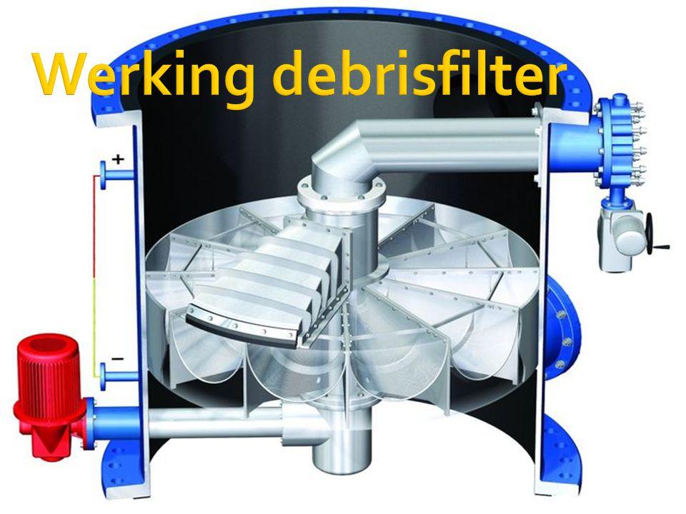 Werking debrisfilter