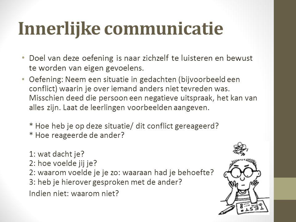 Innerlijke communicatie