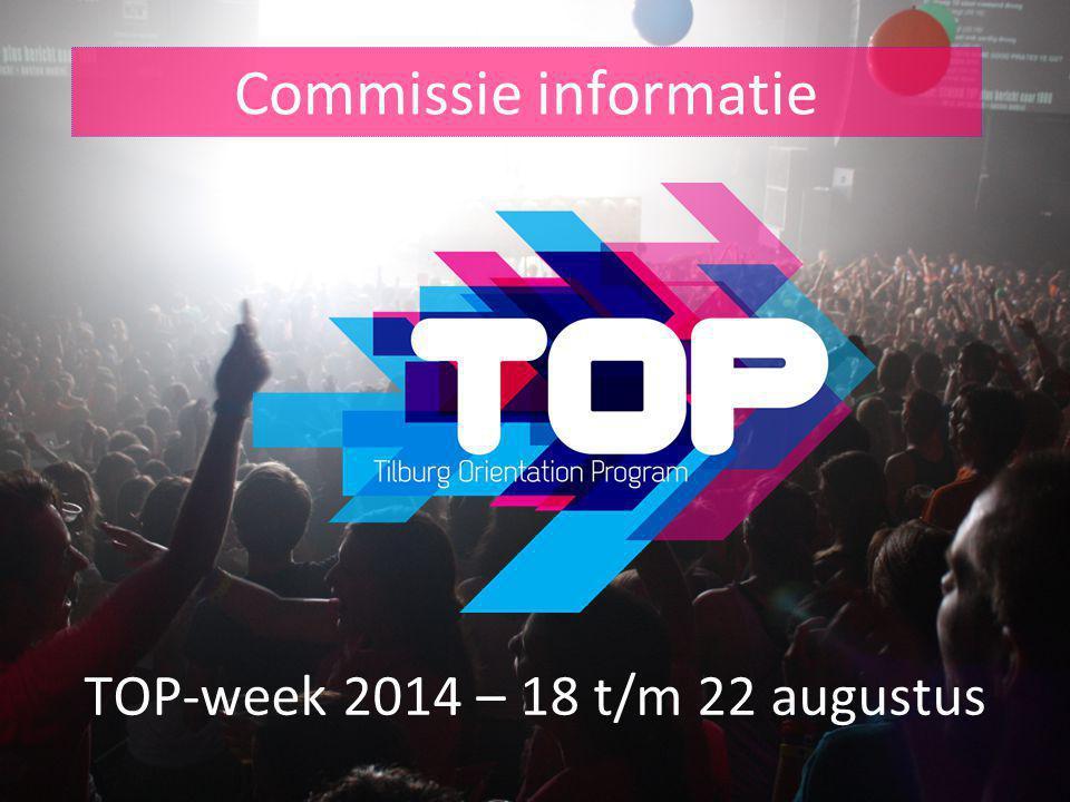 TOP-week 2014 – 18 t/m 22 augustus
