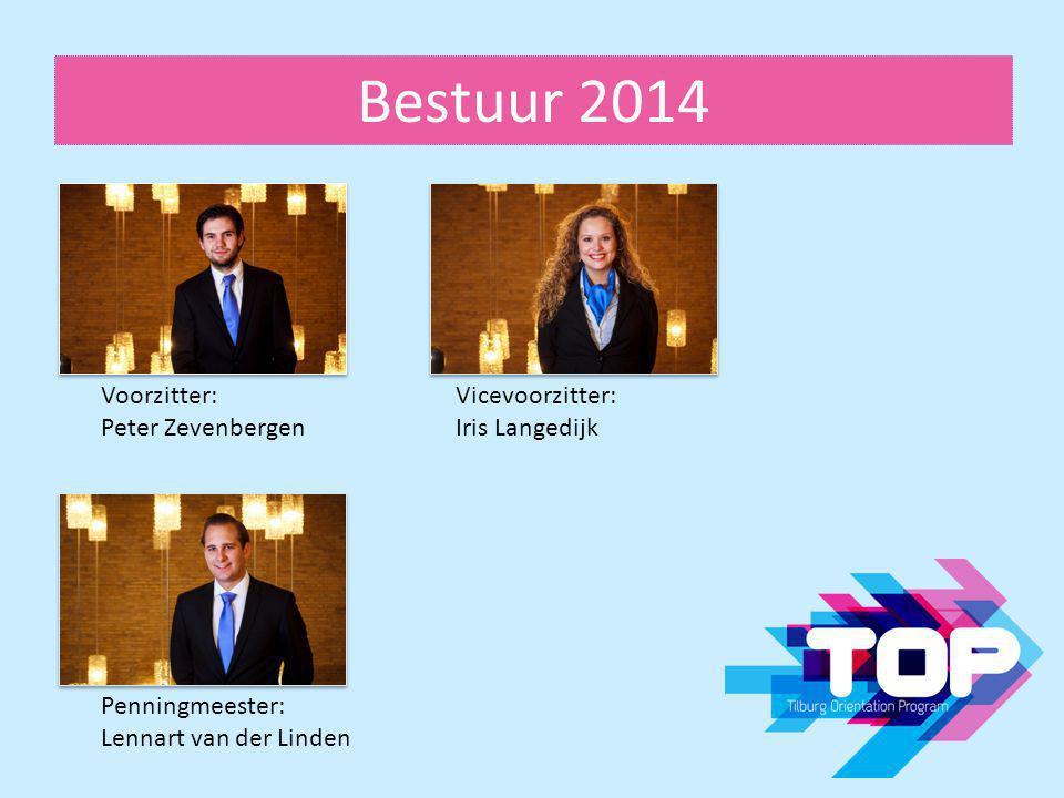 Bestuur 2014 Voorzitter: Peter Zevenbergen