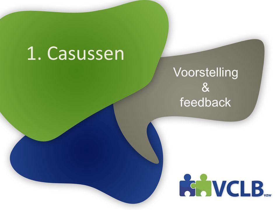 1. Casussen Voorstelling & feedback
