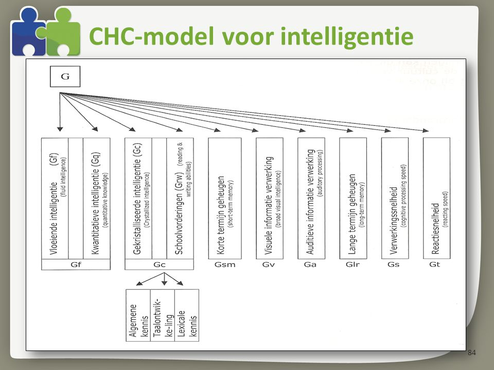 CHC-model voor intelligentie