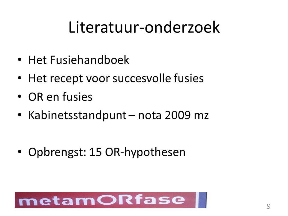 Literatuur-onderzoek
