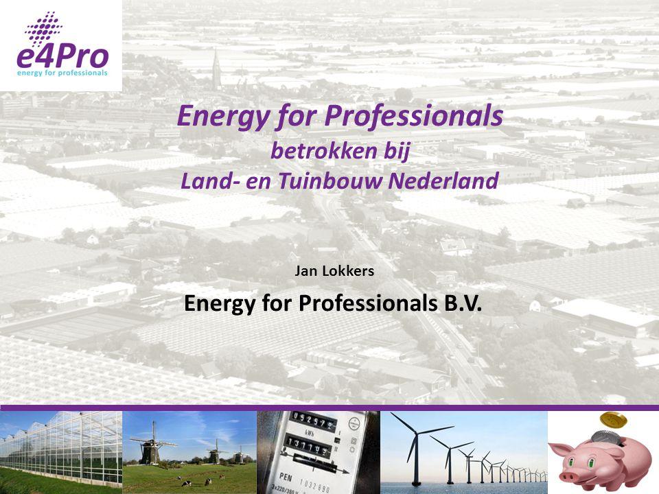 Energy for Professionals betrokken bij
