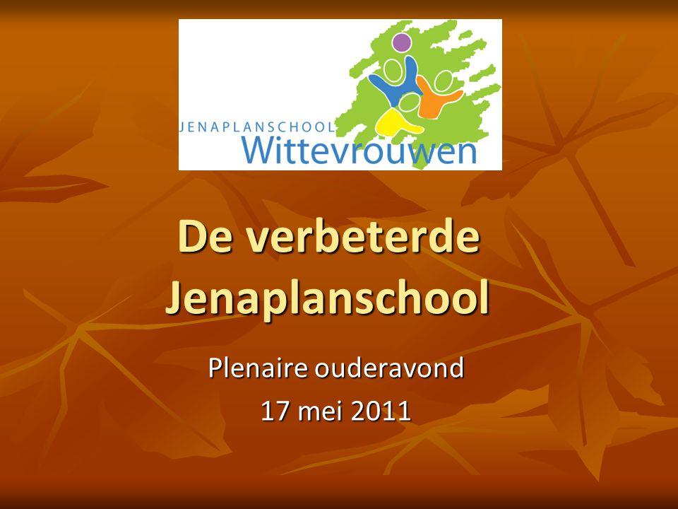 De verbeterde Jenaplanschool