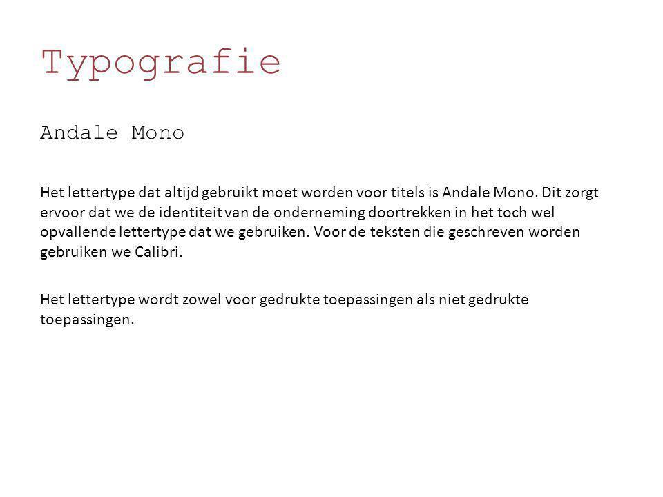 Typografie Andale Mono