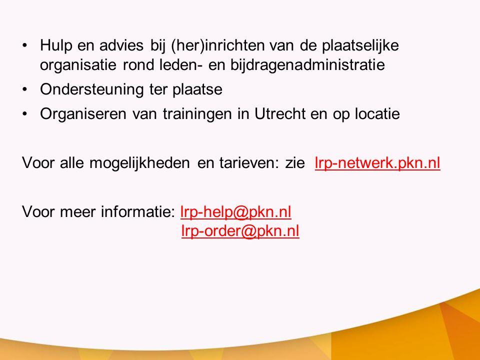Lrp algemeen release 2 1 koos willemse ppt video online for Hulp bij inrichten