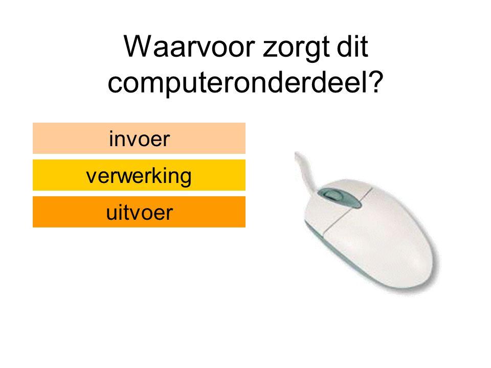 Waarvoor zorgt dit computeronderdeel