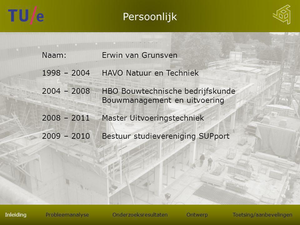 Persoonlijk Naam: Erwin van Grunsven